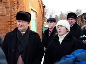 О.И. Бетин и О.И. Староверова на Новотомниковском конезаводе (фото М. Карасева)