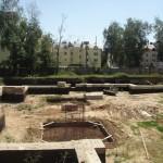 Фундамент под восстановление Успенского собора