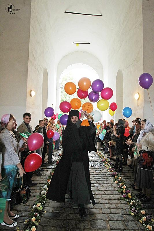 Новый день рождения Новоспасского монастыря