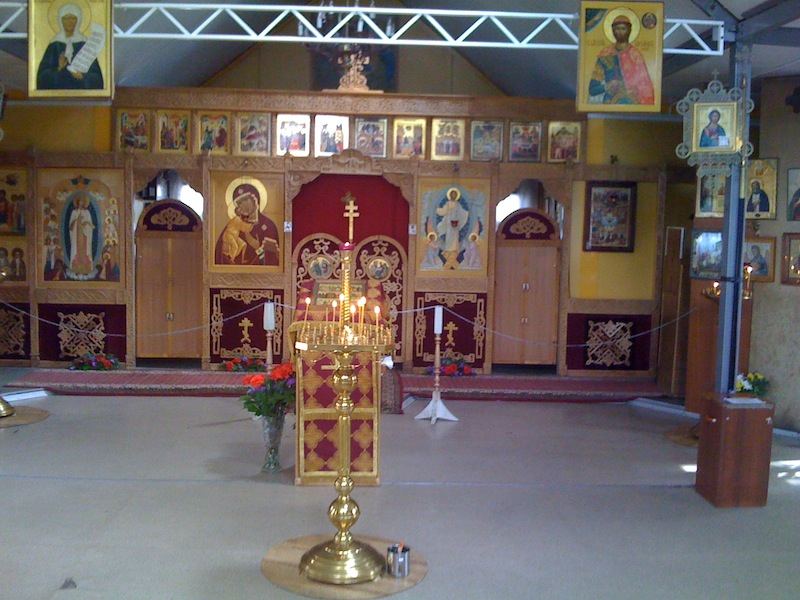 Храм в Строгино