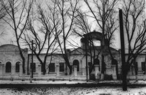 Зооветеринарный техникум в Кирсанове. Фото 1960-х гг.