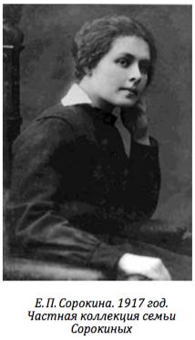 Елена Сорокина (Боратынская)