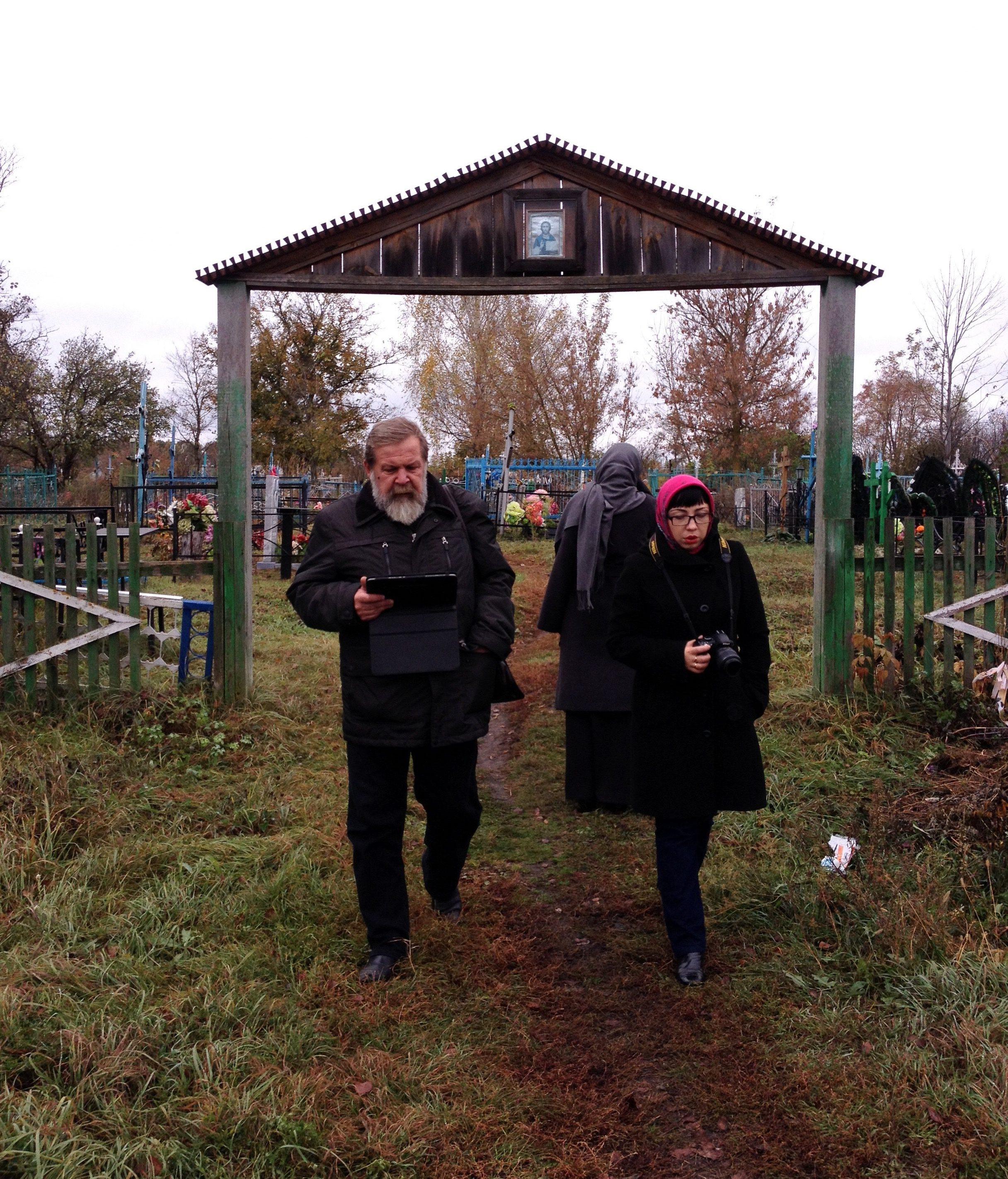 Погост в селе Чутановка