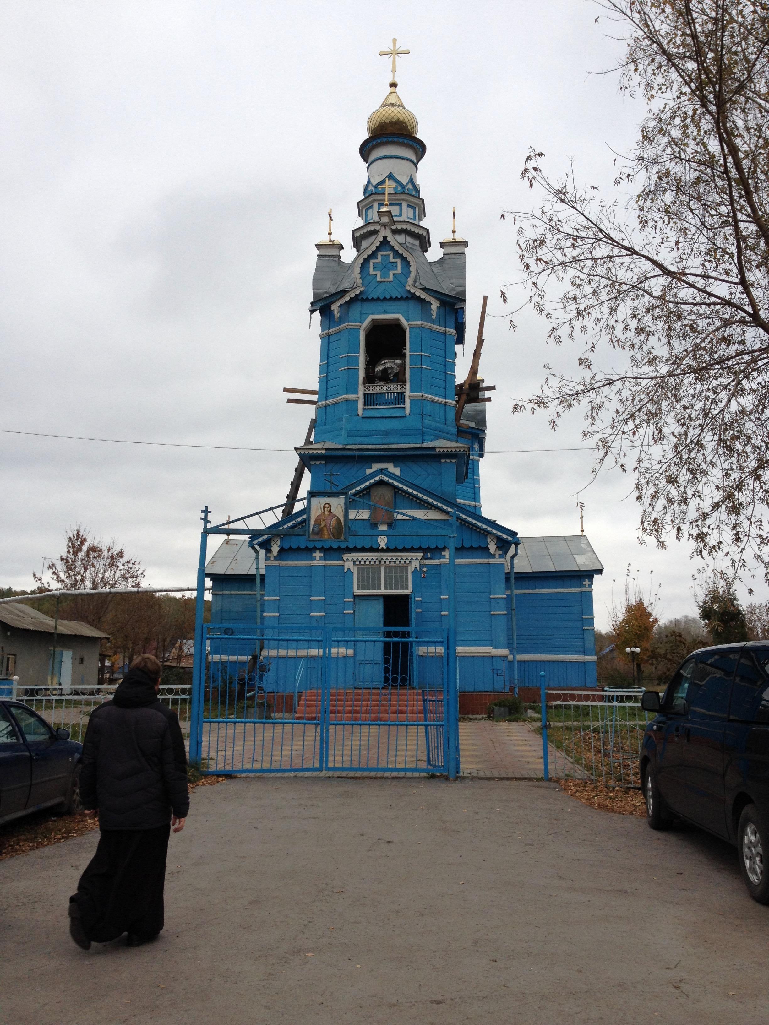 Храм в селе Терновое