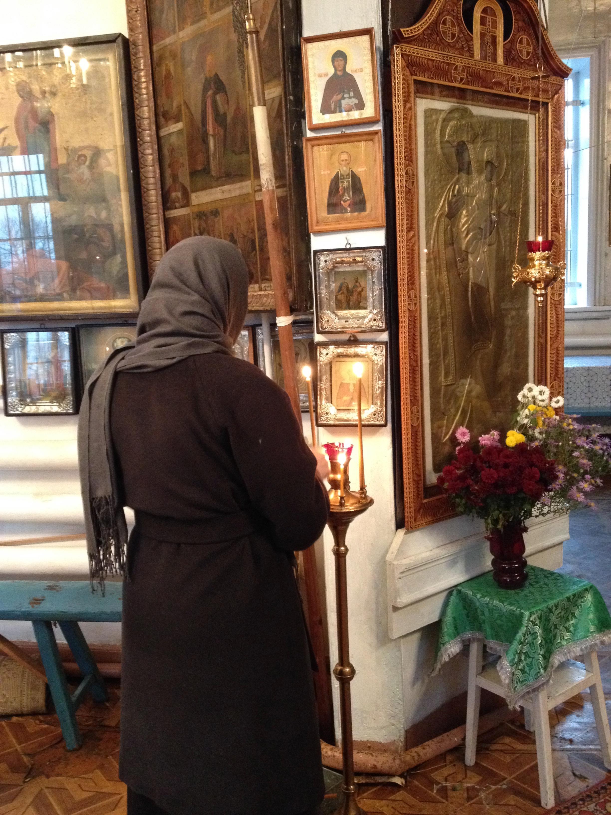 Карандеевская икона Божией Матери в селе Терновое